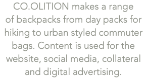 CO.OLITION makes a range 