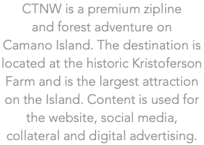 CTNW is a premium zipline 